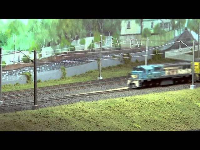 """Fairfield"" Model Railway Layout (Queensland Australia) - HO Scale Model Trains - PoathTV"