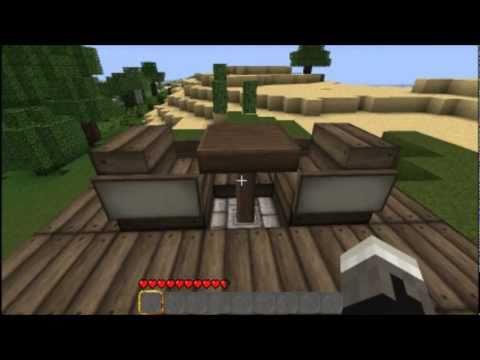 Minecraft Tutorial Piston