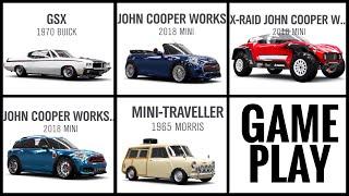 Forza Horizon 4 Update 9 Cars Gameplay (X-Raid Mini, Mini Coopers , Buick GSX & Morris Mini)