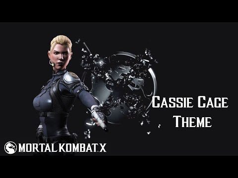 Mortal Kombat X - Cassie Cage: Hollywood (theme) video