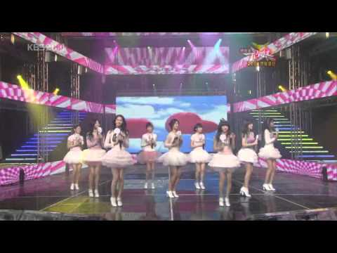 Girls Generation Snsd Kissing You Live Music Bank 081226 video