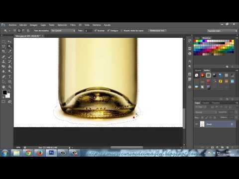 Tutorial Photoshop - Aplicar transparencias en cristal