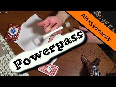 Pen Spinning (Урок): Powerpass