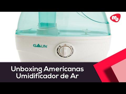 Unboxing Americanas - Umidificador De Ar