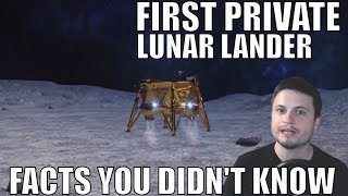 First Private Lunar Lander Delivers 30 Million Page Archive of Human History to the Moon