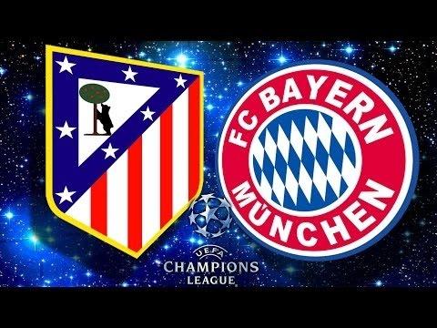 BAYERN MUNICH - ATLETICO DE MADRID   SEMIFINALES UEFA CHAMPIONS LEAGUE   FIFA 16 - Rubenillo17