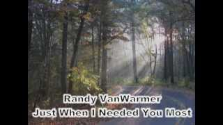 Just When I Needed You Most - Randy VanWarmer (with lyrics)