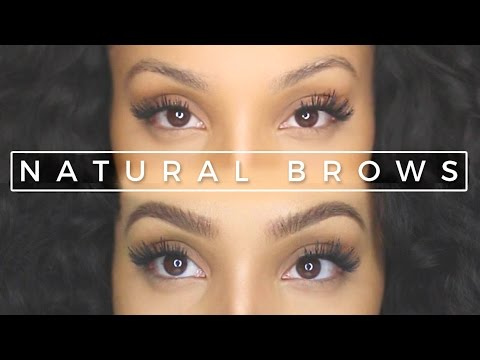 How to Get Natural-looking Eyebrows with Makeup   UPDATED