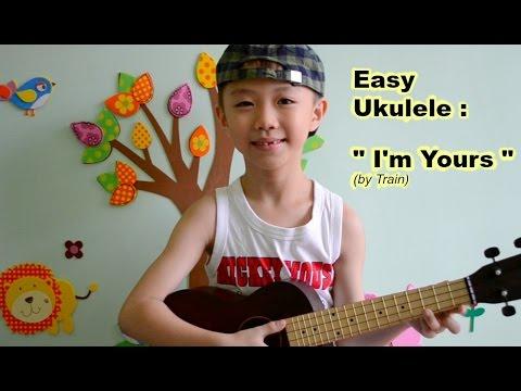 Ukulele for Kids : I'm Yours by Train (Easy Ukulele Lesson)