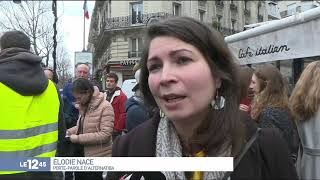 """""""Gilets jaunes"""" : des violences éclatent à Paris"""