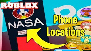 ALL PHONE LOCATIONS FOR NASA QUEST IN TEXTING SIMULATOR! (Read Description)