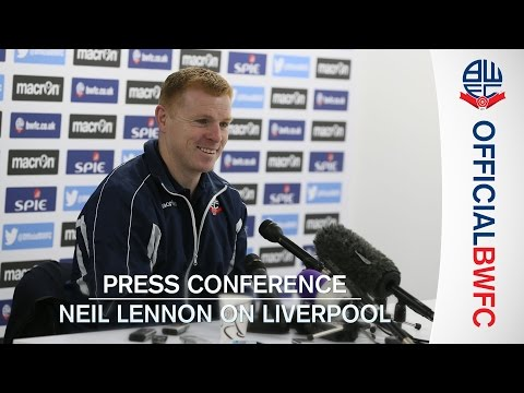 PRESS CONFERENCE | Neil Lennon on Liverpool FA Cup tie