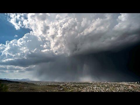 "Timelapse Captures Microburst Unleashing Rare ""Rain Bomb"""