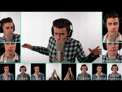 Taylor Swift - Trouble & Justin Bieber - Mike Tompkins A Capella Mashup video