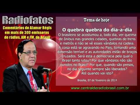O QUEBRA QUEBRA DE ÔNIBUS NO BRASIL