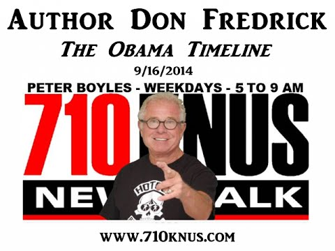 Author Don Fredrick: The Obama Timeline - 9/16/2014