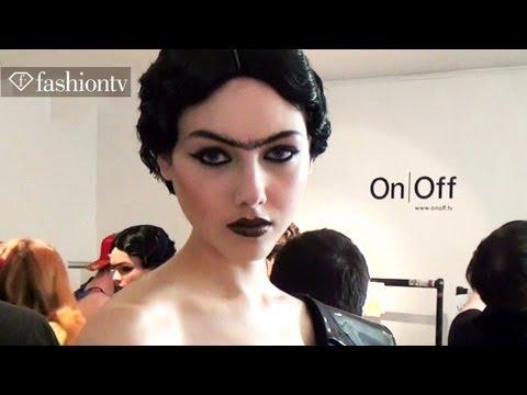 Charlie Le Mindu Models Backstage - Paris Fashion Week Spring 2012 Pfw | Fashiontv - Ftv video