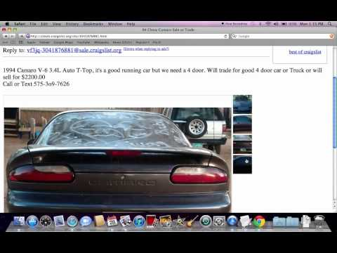Craigslist Clovis New Mexico - Cheap Used Cars Under $1000 by Owner