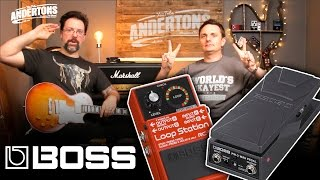 Boss PW3 Mini Wah & Boss RC1 Looper