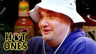 Artie Lange Is Raw and Uncensored While Eating Spicy Wings   Hot Ones by : First We Feast