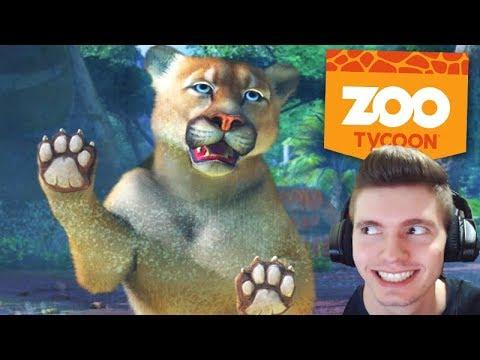 A PUMA TENTOU me ATACAR!!! - Zoológico do Lipão #02