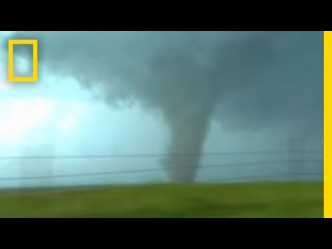 Tornadoes, Lightning in Rare Video - YouTube