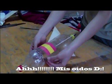 Cómo hacer un cohete de agua. (SUPER-VÍDEO) (1080p)