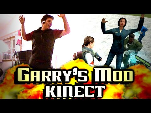 Garrys Mod Kinect: Chilled Dances...and Scissors