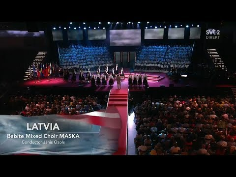 Latvia - LIVE - Choir Maska - Come, God! - Grand Final - Eurovision Choir 2019 (HQ)