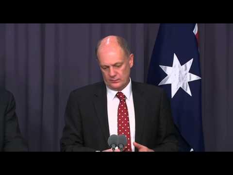 DPM Warren Truss/ATSB Martin Dolan - MH370 tender announcement 06/08/14 Part 2