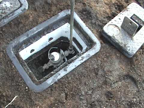Turn Off Your Water Meter Youtube