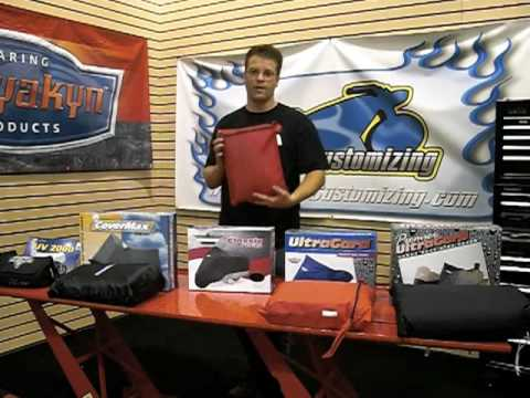 Motorcycle Covers - Different Options & Types - Video Guide: Tip of the Week