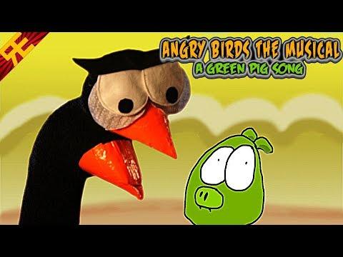Angry Birds: El musical con muñecos de tela