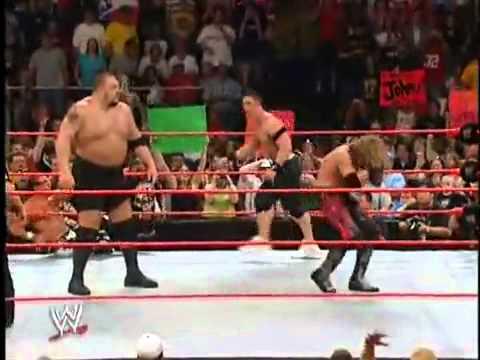 6 Man Pin ( John Cena Goes Crazy )