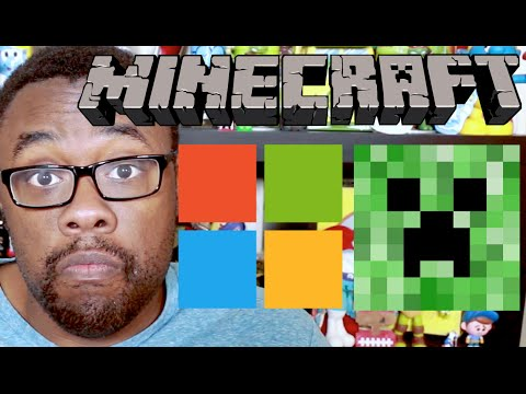 MICROSOFT BUYS MINECRAFT : Black Nerd