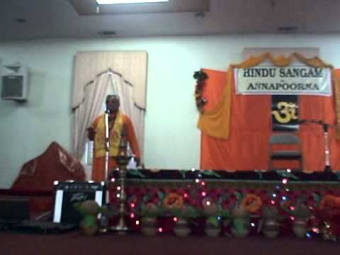 Rajan Zed Speech at Hindu Sangam Sacramemto, CA