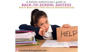 How to Boost Your Child's Focus/Attention Naturally