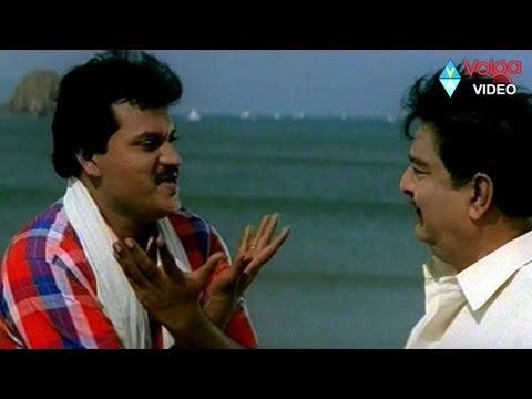 Room boy Sunil comedy with manager Kaikala Satyanarayana Comedy...