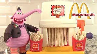 McDonald's Machine à frites French Fry Happy Meal Maker Playset