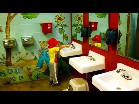 Ходим в туалет по Американски. жизнь в Америке, в США.