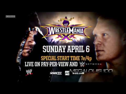 Undertaker Vs. Brock Lesnar 2nd Wrestlemania 30 Promo Song - ''motherless Child'' With Download Link video