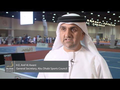 Abu Dhabi Sports Festival Feature with H.E. Aref Al Awani