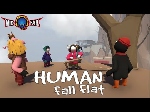 Human Fall Fat | Funny Game Play | Road to 113K Subs(06-09-2019)