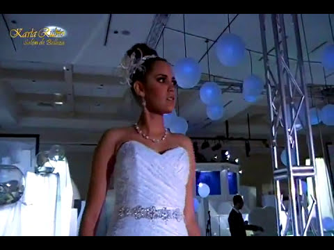 Pasarela Maquillaje y Peinado Novias y XV Años, Expo 2011, Karla Rubio Salón de Belleza