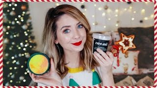 HUGE Festive Lush Haul & Demo | Zoella
