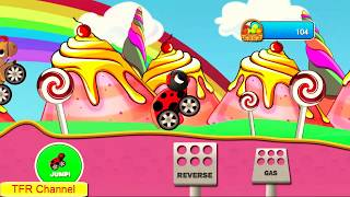 Animal Cars Kids Racing Game : Ladybug Car - Part 2/Game For Kids -Nursery Rhymes Songs For Children