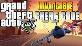 Grand Theft Auto V: Invincible Cheat/ God Mode - Never Die in GTA V