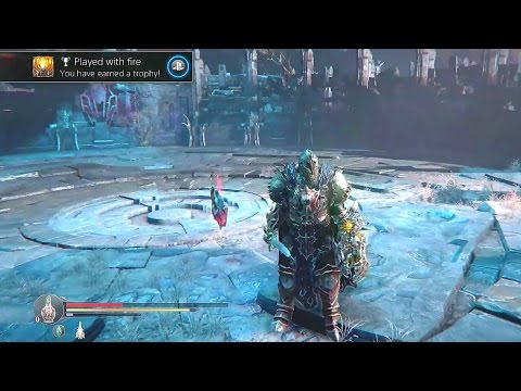 Played with Fire trophy Keeper Ancient Labyrinth DLC Lords of the Fallen achievements