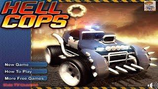 Monster Truck Destroyer All Levels | Hell Cops Gameplay | Car Cartoons For Children #KidsTVChannel