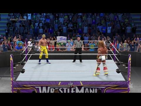 WWE 2K15 Fantasy Showdown: Sting vs. Ultimate Warrior - NEXT GEN